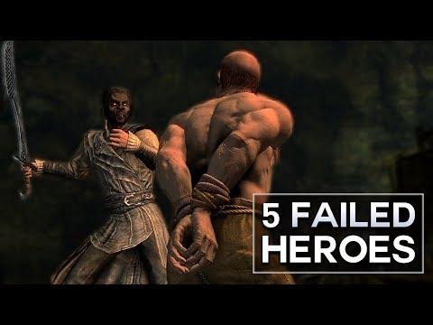 Skyrim - 5 Failed Heroes