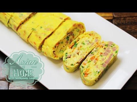 Korean Egg Roll/Rolled Omelet