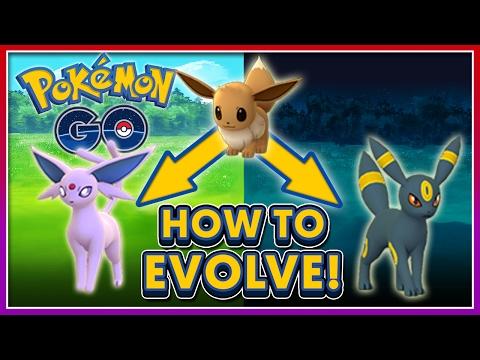 Pokémon GO: HOW TO EVOLVE ESPEON & UMBREON! (Gen 2 Tips #2)