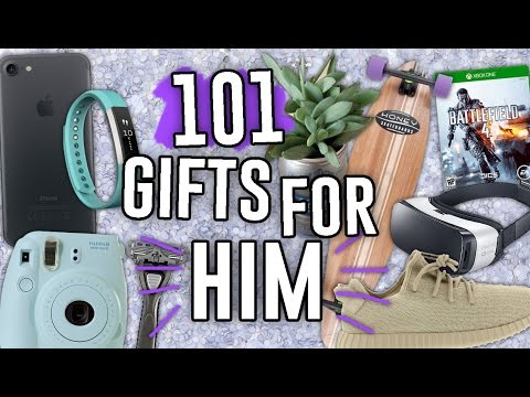 101 LAST MINUTE GIFT IDEAS FOR HIM HE'LL ACTUALLY WANT! // Jill Cimorelli