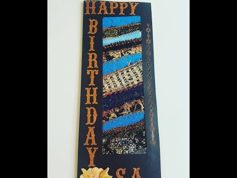 Birthday card from Nola Harris