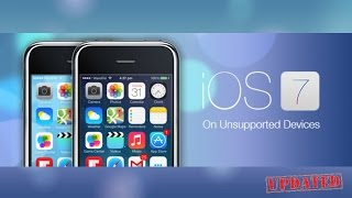 Updated How To Get Ios 7 On Iphone 3g3gs Ipod Touch 2g3g4g Ipad 1 Old