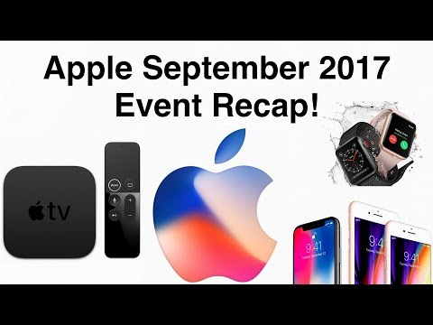 iPhone X, iPhone 8/8 Plus, Apple Watch Series 3, Apple TV 4K