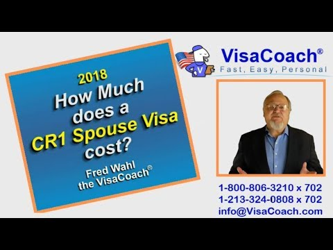 2018 Spouse Visa Costs for CR1 or IR1 Faq #6
