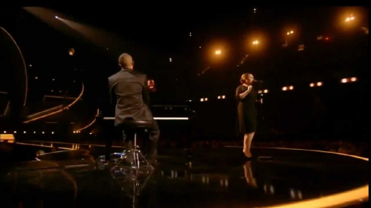 Adele - Someone Like You (Live from the BRITs)