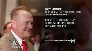 News Wrap: Political fallout continues over Roy Moore report