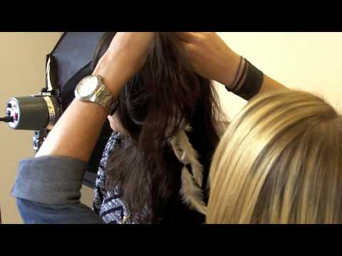 Feathers: Easy Clip In Extensions