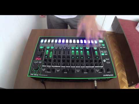 KiNK with Roland T.R. 8 test 1