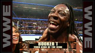 Booker T gets crowned King of the Ring in 2006