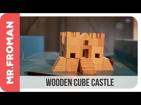 How to make wooden blocks for a castle.