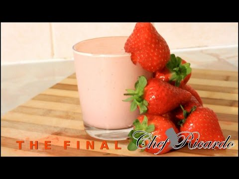 Ice Cream And Strawberry Smoothie   Recipes By Chef Ricardo