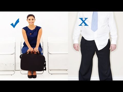 How To Get Your Dream Job? - Interview Tips - Body Language