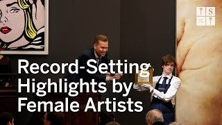 Works By Women Drive Sothebys Contemporary Art Evening Auction