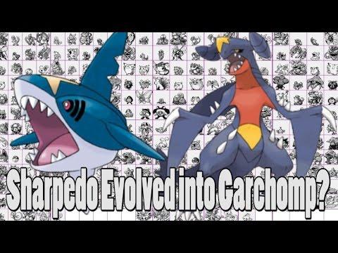 Pokemon Theory: Garchomp Evolved From Sharpedo?