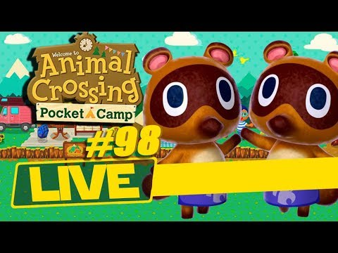 GIVEAWAY THIS WEEK!! EARN STREAM CURRENCY TO ENTER! - Animal Crossing: Pocket Camp