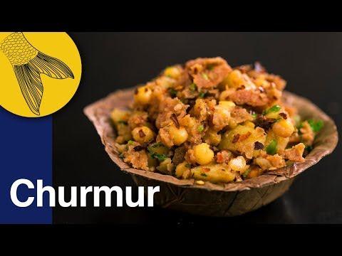 Churmur   Crunchy, Tangy, Savoury Bengali Snack   Calcutta Street Food
