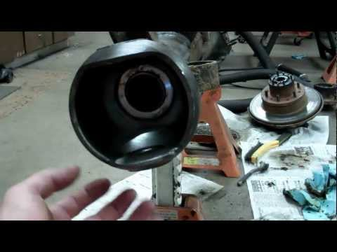 Tacoma Axle seal replacement and more - Toyota Front Axle Housing