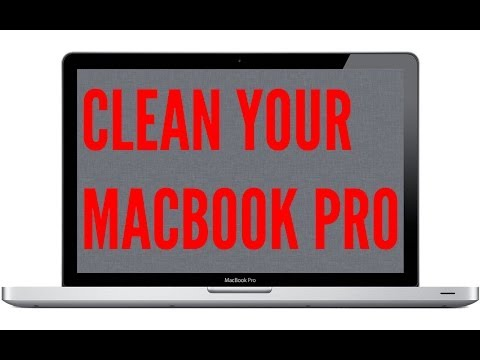 How To Clean Your MacBook Pro (Inside)
