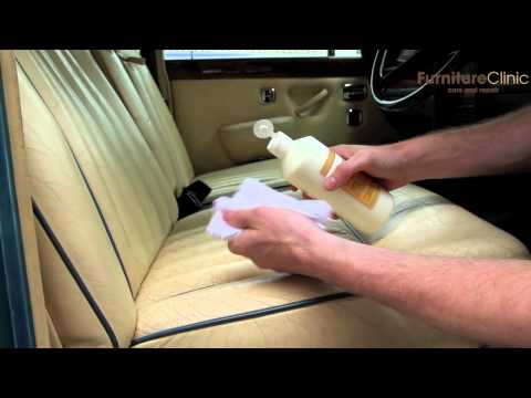 Cleaning Classic Car Leather Seats