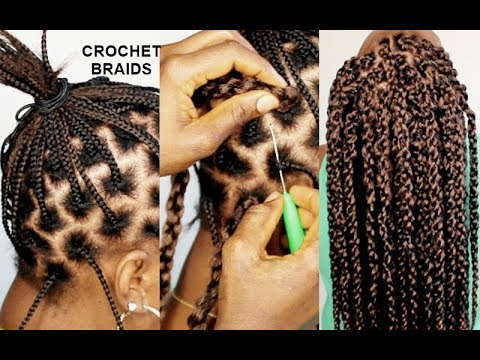 NO CORNROWS CROCHET BRAIDS USING THE-SAME HAIR FOR 1 YEAR- HOW TO