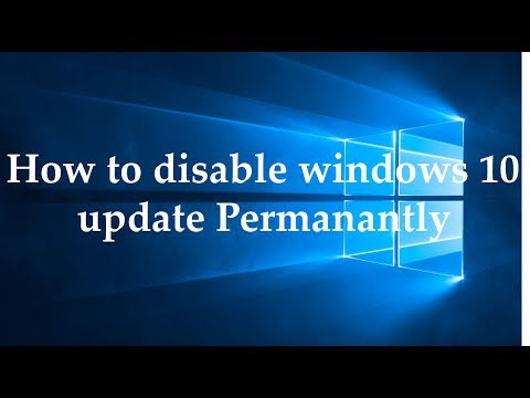 how to stop disable windows 10 update permanently easy way