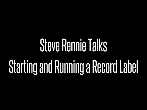 Ask Renman - How Do I Start And Run a Record Label