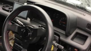 Daihatsu Mira Turbo intercooler AWD  Manual 1989