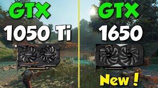 GTX 1650 vs GTX 1050 Ti Test in 8 Games
