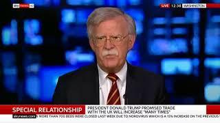 Amb John Bolton rips Sky News