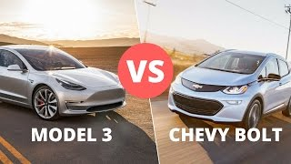Tesla Model 3 vs Chevy Bolt: Cost, Speed, Safety and Tech Features Reviewed and Compared