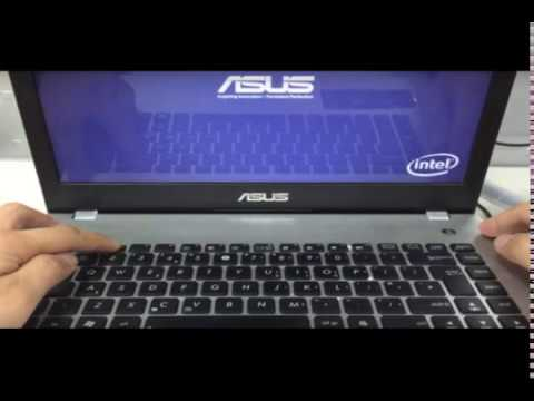 HOW TO ENTERING BIOS ASUS X540 PRESS  AT THE SAME TIME POWER + F2