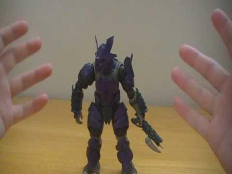 Halo 3 - Brute Captain Series KoBaCaaTT Review - Custom Figure