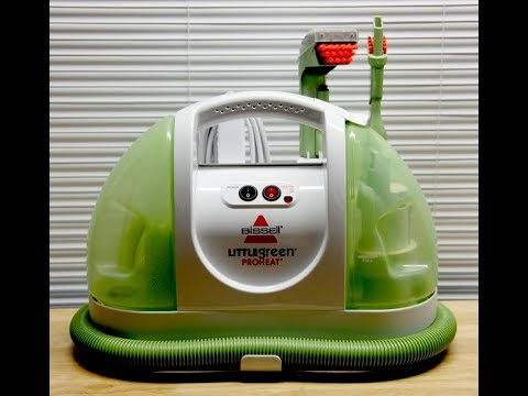 Bissell Proheat Little Green Carpet Cleaner - Won't Spray