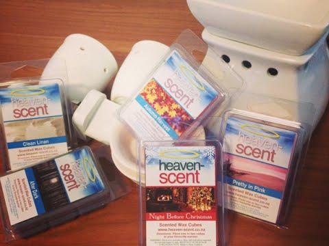 My latest craze... Heaven Scent Wax Melts