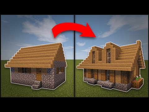 Minecraft: How To Remodel A Village Large House