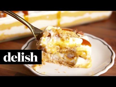 Pumpkin Cheesecake Lasagna   Delish