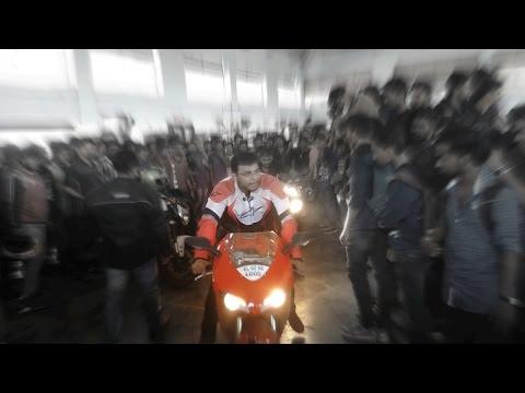 CBR 1000RR,Ducati 848,Triumph,FZ1000,Ninja 300|Superbikes in Kerala.(STCET Chengannur)