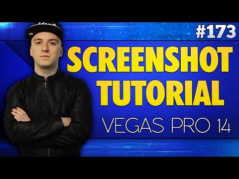 Vegas Pro 14: How To Take Screenshots - Tutorial #173