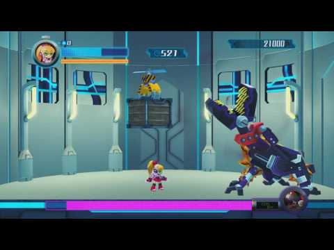 [Walkthrough] Mighty No. 9 Boss Rush Guide in under 20 minutes!