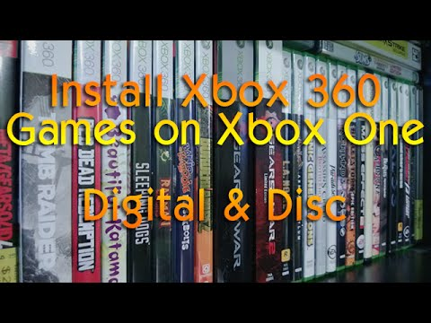 How to play Xbox 360 games and DLC on Xbox One | Digital & Physical Copies