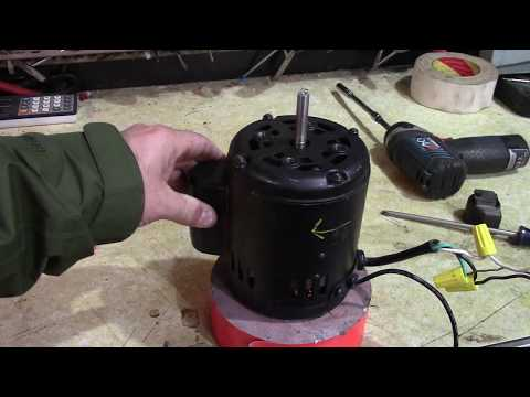 Attempting To Reverse A Non-Reversible Motor