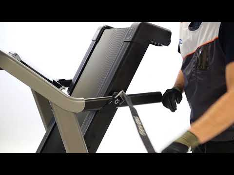 How to change the kit folding shock on a T540A treadmill ?
