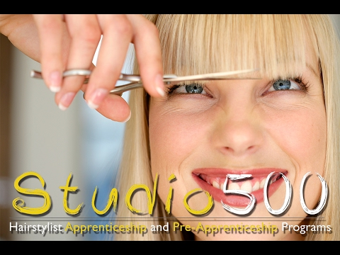Want to be a hairstylist? Come to Studio 500!