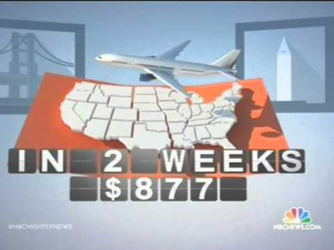 Tips on how & when to get the lowest airfare prices from nbc news.