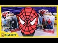 Giant Spiderman Play Doh Surprise Egg With Marvel Minecraft