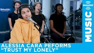 "Alessia Cara performs ""Trust my Lonely"" live at SiriusXM"