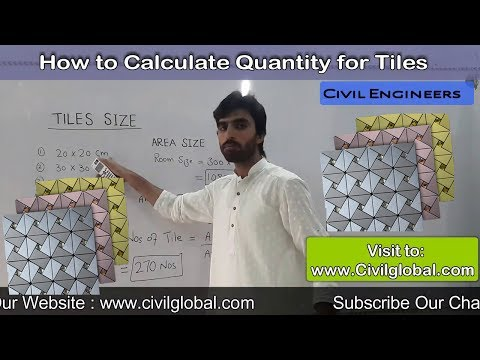 How to Calculate Number of Tiles