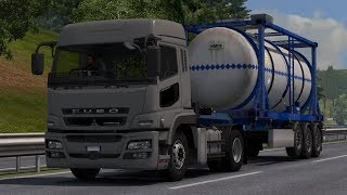 ETS 2 | Mitsubishi Fuso Super Great JDM Style 6x4 Low bed