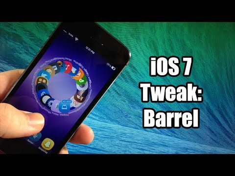 iOS 7 Jailbreak Tweak - Barrel - New Animations!