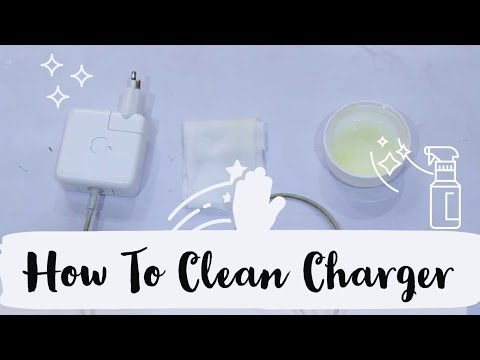 DIY - How to Clean Charger Cable, EarPods, USB Cable & Macbook Charger